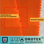 En11611 EN11612 PT1149 350gsm Tecido resistente a chamas Anti-Static tecidos para vestuário de protecção-CFR350como