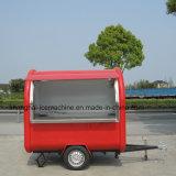 China Fornecedor rua colorida Mobile Carrinho alimentar / Fast Food Truck / Food reboques