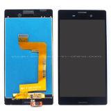 Schermo all'ingrosso dell'affissione a cristalli liquidi del telefono mobile per la visualizzazione del Aqua E2303 E2306 E2353 del SONY M4