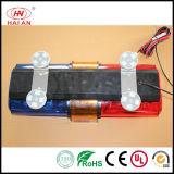 Mini piloto giratorio del tráfico corto de Lightbar de la seguridad del halógeno