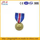 Medalla militar del metal de la venta de la aleación de encargo caliente del cinc 3D
