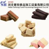 Linea di produzione commerciale del biscotto della cialda strumentazione di cottura del forno di gas
