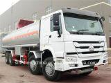 25m3 Sinotruk HOWO 8X4 연료 371HP 유조선 석유 탱크 트럭
