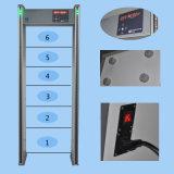 Gang door de Detector van het Metaal (Intuïtief waterdicht model) xld-A