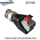 CCTV Male BNC Plug with Screwless Terminals (CT110)
