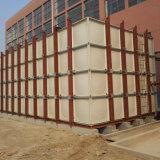Serbatoio più poco costoso di trattamento delle acque della plastica SMC FRP dalla Cina
