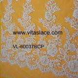 Curtain VL-60037BC를 위한 1.4m Width Lace Fabric Wholesale