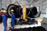 máquina de soldar tubos HDPE/máquina de fusão de topo do tubo de HDPE