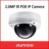 câmara digital Vandalproof do IP da rede da abóbada do IR do Web de 2.0MP 1080P