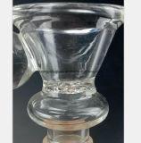 De Pijp van het glas van Mannetje 14.5mm, de Olie van de Montage van de Pijp van de Waterpijp van 18.8mm