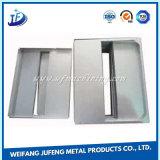 粉のコーティングが付いている部分を押すステンレス鋼の精密CNC