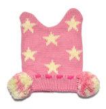 冬の方法昇進の編まれたEarflapsの帽子
