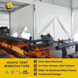 Aluminium Feld Zelt des Lager-6082t6 mit Belüftung-Deckeln (hy281b)