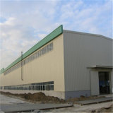 Resistencia de un terremoto la estructura de bastidor de acero de almacén para taller