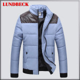 Einfache aufgefüllte Winter-Umhüllung für Mann-Oberbekleidung