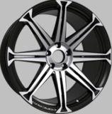 [هيغقوليتي] سوداء/فضة [18/19/20/22ينش] [هر] /Concave سبيكة عجلات
