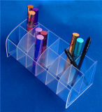 POS Display를 위한 12의 슬롯 Clear Acrylic Plastic Lipstick Display Holder