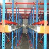 Porta-paletes de armazenagem de transporte automático do rádio de paletes no depósito