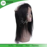Frontal durevole diritto dei capelli umani 360 dei prodotti per i capelli
