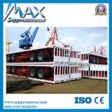 3 Wellen-hölzerner Transport-Stange-halb LKW-Schlussteil von der China-Fabrik