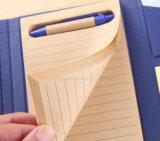 Notebook em papel kraft com régua de feltro Sticky conveniente utilizar para trabalhar ou estudar a tempo