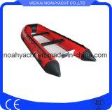 barche della nervatura di certificazione del Ce del guscio della vetroresina del PVC Rib390 V di 0.9mm-1.2mm