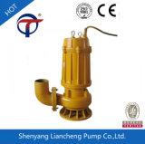 bomba de água de esgoto submergível de agitação automática da série de 1.5kw 3inch Wq