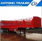 半Aotongの機能3つの車軸記憶装置の家棒塀の貨物トレーラー