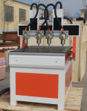 6060 pequenos de metal do ATC Router CNC de moagem de bronze de alumínio