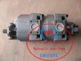 Hydraulische dreifache Zahnradpumpe 705-56-44001/705-56-44010, hydraulische Zahnradpumpe 705-56-44001/705-56-44010 für Rad-Ladevorrichtung Wa600-1