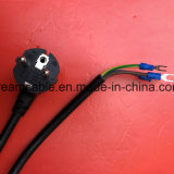 Kc утвердил 1,8 м 3 черного цвета контакт Корея шнур питания с U разъема