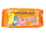 Manufactory Alchol Wipe младенца 80PCS свободно намочил Wipe с полиэтиленовым пакетом
