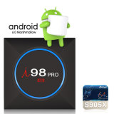 Я98 PRO Android 7.1 Google Internet TV с S905X Quad Core 64bit 2ГБ/16 ГБ 2,4 WiFi поддержка 4K HD