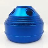알루미늄 6061의 6063의 6065의 CNC 부속, CNC 부속을 돌거나 맷돌로 가는 파란 양극 처리된 알루미늄 CNC