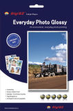180g Papier photo à jet d'encre brillant à un seul miroir latéral