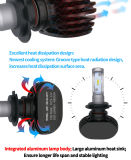 Faro automatico di H7 50W 4000lm 6000K LED con l'indicatore luminoso di marchio dell'automobile del LED 2D 3D 4D 5D e l'indicatore luminoso automatico