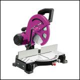 Mini Kit de scie à onglet circulaire Guide / Rail 85mm de diamètre de lame de moteur de 600W 27mm max la profondeur de coupe à angle de coupe transversale