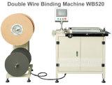 Machine van het Bindmiddel van het Boek van de Draad van de Fabriek Wb520 van de Fabrikant van China de Dubbele