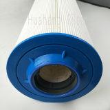 Полиэфирная ткань с фильтр гофрированной урагана картридж фильтра воды