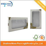 Caixa de empacotamento da caixa nova do telefone de pilha branca do projeto com indicador