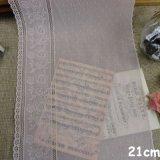 accessori bianchi di guarnizione dell'indumento del merletto del filato del bordo all'ingrosso del ricamo di 20cm