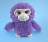 3カラーの柔らかい詰められたプラシ天猿のおもちゃ