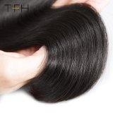 高品質9Aの等級のバージンのRemyのブラジルの毛、自由な部分4X4のまっすぐなレースの閉鎖(TFH18)