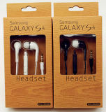 3.5mm Mobile Phone Stereo Earphone per Samsung Galaxy S4 Galaxy S6