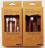 écouteur stéréo de téléphone portable de 3.5mm pour la galaxie S6 de la galaxie S4 de Samsung