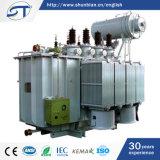 transformador imergido da distribuição de potência de 2500 kVA petróleo abaixador