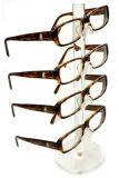 Expositions de marchandises acryliques de lunetterie de lunettes de soleil de guichet