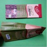 Support personnalisé jusqu'sac de café avec fermeture à glissière et de la soupape de gaz