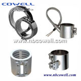 Calentador de banda de mica de acero inoxidable para extrusora