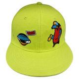 El sombrero con el hombre hizo el pico superior de cuero Sk1619